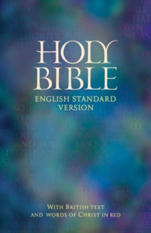 ESV Bible : With British Text and Word of Christ in Red, Paperback Book