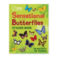 Sensational Butterflies Sticker Book, Paperback Book