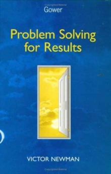 Problem Solving for Results, Hardback Book