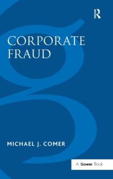 Corporate Fraud, Hardback Book