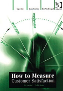 How to Measure Customer Satisfaction, Paperback Book