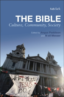 The Bible: Culture, Community, Society, Hardback Book