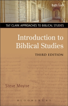 Introduction to Biblical Studies, Paperback / softback Book