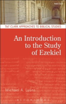 An Introduction to the Study of Ezekiel, Paperback Book