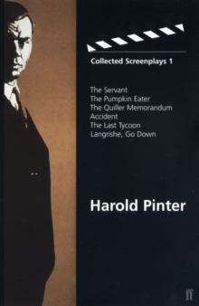 Collected Screenplays 1, Paperback Book