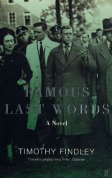 Famous Last Words, Paperback Book