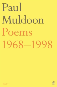 Poems 1968-1998, Paperback Book