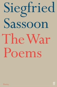 The War Poems, Paperback / softback Book