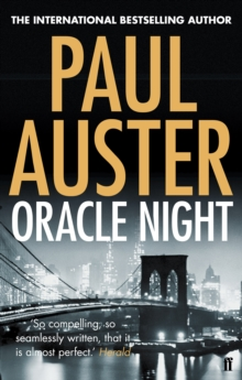 Oracle Night, Paperback Book