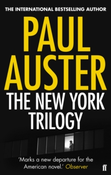 The New York Trilogy, Paperback / softback Book