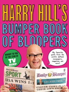 Harry Hill's Bumper Book of Bloopers, Paperback Book