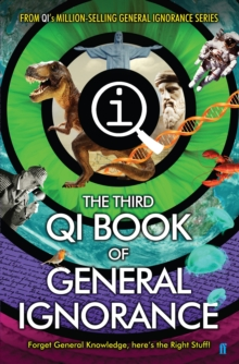 QI: The Third Book of General Ignorance, Hardback Book