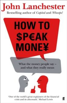 How to Speak Money, Hardback Book