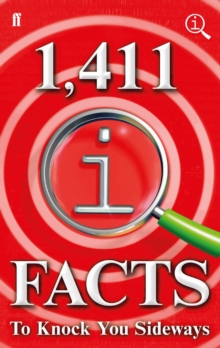 1,411 QI Facts To Knock You Sideways, Hardback Book