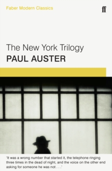 The New York Trilogy : Faber Modern Classics, Paperback Book