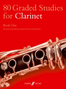 80 Graded Studies for Clarinet : Bk. 1, Paperback Book