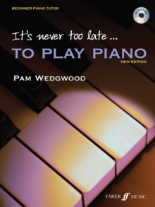 It's never too late to play piano, Paperback / softback Book