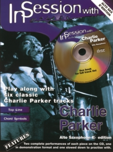 In Session with Charlie Parker (alto Saxophone), Mixed media product Book