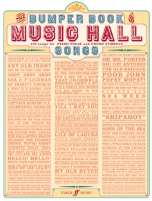 Bumper Book of Music Hall Songs : (Piano, Vocal, Guitar), Paperback Book