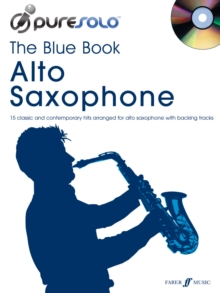 PureSolo: The Blue Book Alto Saxophone, Mixed media product Book