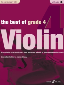 The Best of Grade 4 Violin (Violin with Paino Accompaniment), Paperback Book