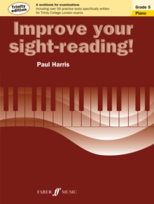Improve your sight-reading! Trinity Edition Piano Grade 5, Paperback / softback Book