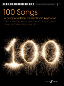 Easy Keyboard Library: 100 Songs (Electronic Keyboard), Paperback Book