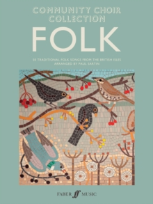 Community Choir Collection: Folk, Sheet music Book