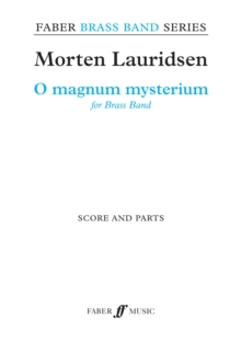 O Magnum Mysterium (Score & Parts), Sheet music Book