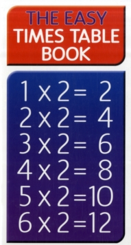 Easy Times Table, Paperback Book