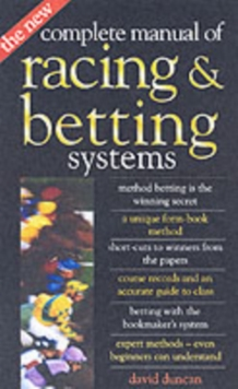The New Complete Manual of Racing and Betting Systems, Paperback Book
