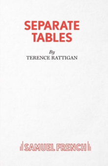 Separate Tables, Paperback Book