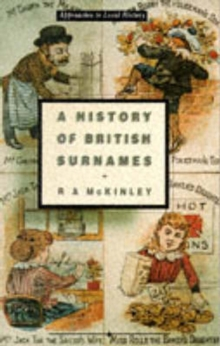 A History of British Surnames, Paperback Book
