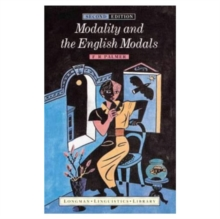 Modality and the English Modals, Paperback Book