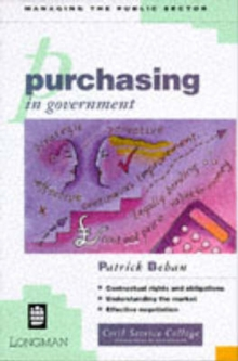 Purchasing in Government, Paperback Book