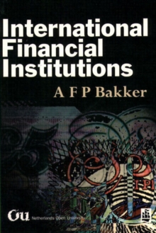 International Financial Institutions, Paperback Book