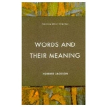 Words and Their Meaning, Paperback / softback Book