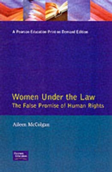 Women Under the Law : The False Promise of Human Rights, Paperback Book