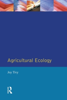 Agricultural Ecology, Paperback Book