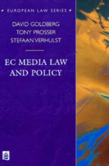EC Media Law and Policy, Paperback Book