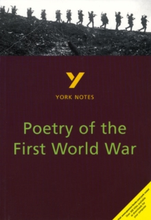 Poetry of the First World War: York Notes for GCSE, Paperback / softback Book