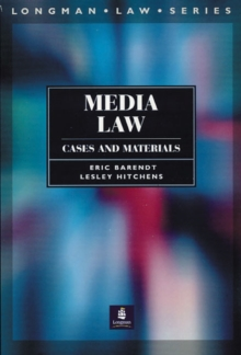 Media Law: Cases and Materials, Paperback Book