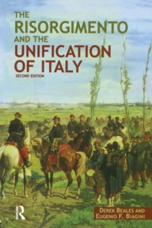 The Risorgimento and the Unification of Italy, Paperback / softback Book