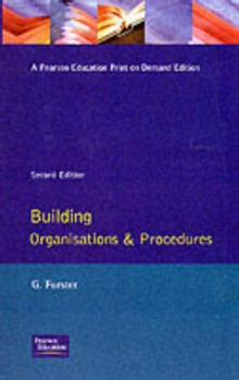 Building Organisation and Procedures, Paperback Book