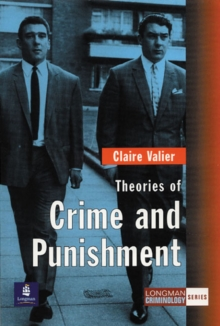 Theories of Crime and Punishment, Paperback Book