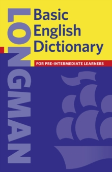Basic English Dictionary, Paperback Book