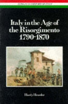 Italy in the Age of the Risorgimento 1790 - 1870, Paperback Book