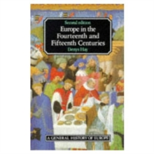 Europe in the Fourteenth and Fifteenth Centuries, Paperback Book