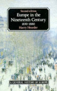 Europe in the Nineteenth Century, Paperback Book