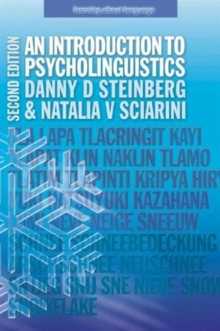 An Introduction to Psycholinguistics, Paperback Book